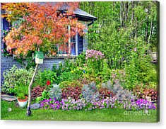My Corner Of The World Acrylic Print by Kathleen Struckle