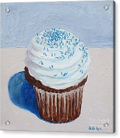 My Cup Cake Acrylic Print by William Reed