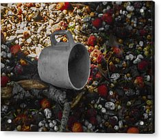 My Cup Falleth Over Acrylic Print