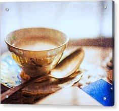 My Cup Of Tea Acrylic Print by Jon Woodhams