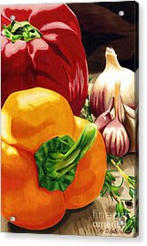 My Cutting Board Acrylic Print