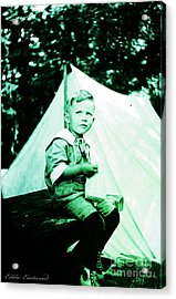 Acrylic Print featuring the photograph My Dad... by Eddie Eastwood