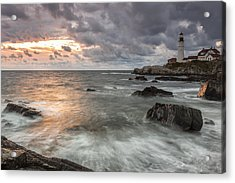 My Day Begins Acrylic Print by Jon Glaser