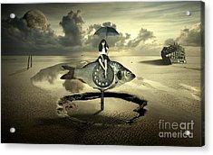 My Dear Fish Acrylic Print by Franziskus Pfleghart
