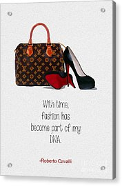 My Dna Acrylic Print