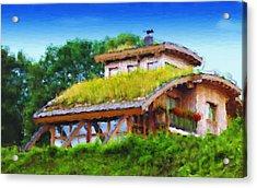 My Dream House Acrylic Print by Gabriel Mackievicz Telles