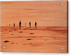 Acrylic Print featuring the painting My Dreamtime 2 by Tim Mullaney