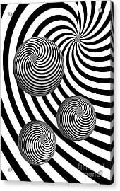 My Eyes Hurt Acrylic Print by Steve Purnell