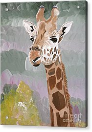 My Favorite Giraffe Acrylic Print