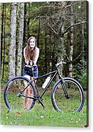 My Favorite Ride Acrylic Print by Susan Leggett