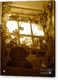 My Favorite Window At The Mill Acrylic Print