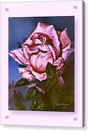 My First Rose Acrylic Print