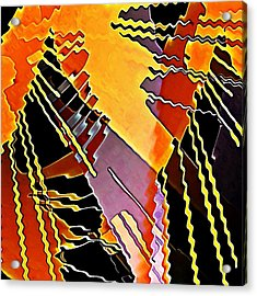 My Fission Electric Acrylic Print