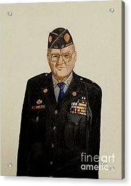 My Grandfather Galen Kittleson Acrylic Print