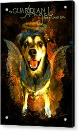 My Guardian Angel - Hollister Acrylic Print