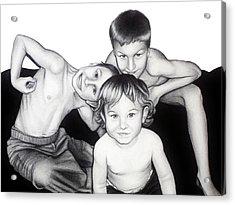 My Guys In 2010 Acrylic Print