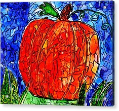 My Halloween Pumpkin Acrylic Print by PainterArtist FIN
