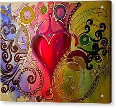 My Heart Acrylic Print