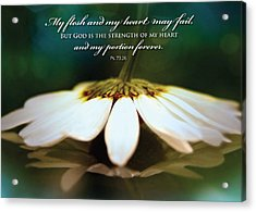 My Heart May Fail Acrylic Print
