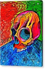 My Hell  Acrylic Print by Ryno Worm  Tattoos