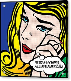 My Hero Acrylic Print