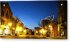 My Home Town 2 Acrylic Print by Will Boutin Photos