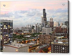 My Home Town Chicago Acrylic Print
