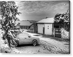 My Home Town - Winter 2015 Acrylic Print