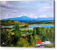 My Homeland Acrylic Print by Jason Sentuf