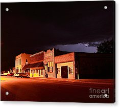 My Hometown Acrylic Print by Steven Reed