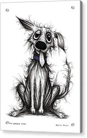 My Horrid Dog Acrylic Print