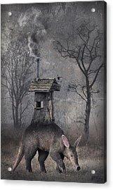 My Hut On The Back Acrylic Print