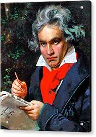 My Immortal Beloved - Beethoven Acrylic Print