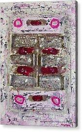 My Jewel Acrylic Print by Mini Arora