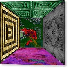 My Kauai Island Room Acrylic Print by Geoff Simmonds