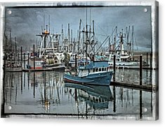 My Lee - Yaquina Bay Acrylic Print by Thom Zehrfeld
