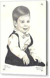 My Little Boy Acrylic Print by Patricia Hiltz