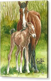 My Little One Acrylic Print