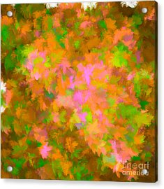 My Love Brown Acrylic Print