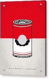 My Mario Warhols Minimal Can Poster-mario Acrylic Print by Chungkong Art