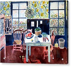 My Matisse Kitchen Acrylic Print by Mark Lunde