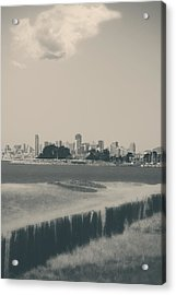 My Mind Knows No Quiet Acrylic Print by Laurie Search