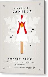 My Muppet Ice Pop - Camilla Acrylic Print by Chungkong Art