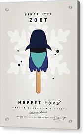 My Muppet Ice Pop - Zoot Acrylic Print by Chungkong Art