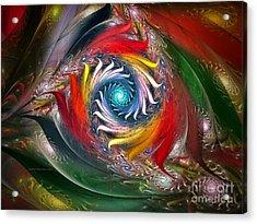 My My Beautiful Laundrette-fractal Art Acrylic Print