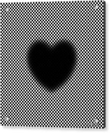 My Mystic Pulsating Heart Acrylic Print