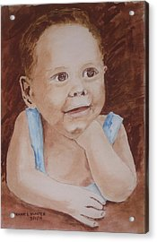 My Nephew As A Child Acrylic Print
