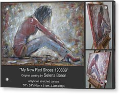 My New Red Shoes 190809 Acrylic Print