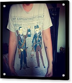 My New T-shirt (thanks To @pacy1988 & Acrylic Print