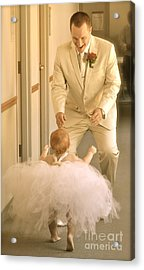 Acrylic Print featuring the photograph My One And Only by Barbara Dudley